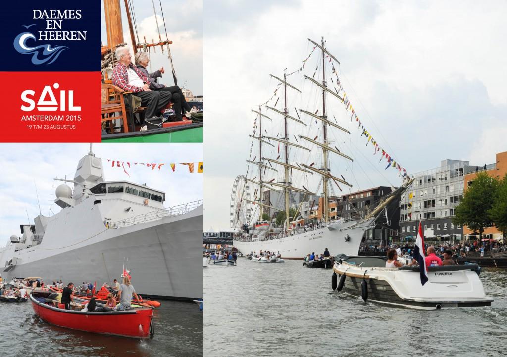 Intender Sloep One Off sloep Sail 2015 Daemes en Heeren Sloepen Tenders Cabins Sloepenboekje Sloepenkaart Amsterdam Beleving Sloepenpost Sloep!