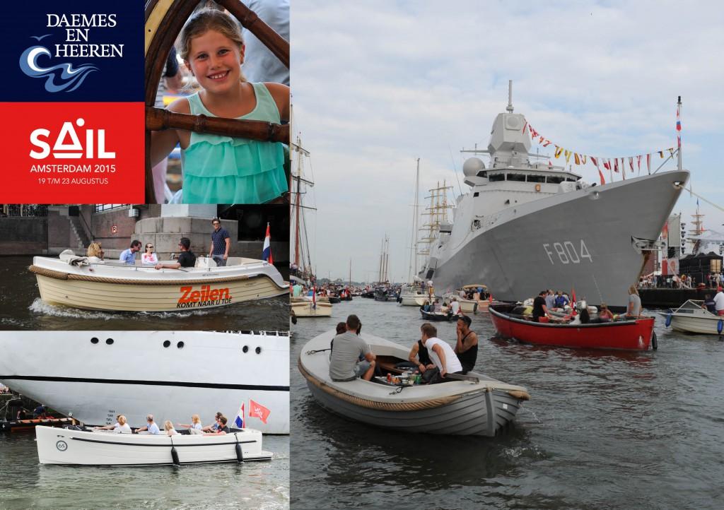 Intender Sloep Antaris 66 sloep aw sloep Sail 2015 Daemes en Heeren Sloepen Tenders Cabins Sloepenboekje Sloepenkaart Amsterdam Beleving Sloepenpost Sloep!