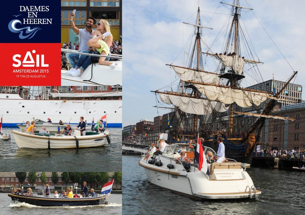 Intercruiser Crescent Allure Sloep JVG sloep Sail 2015 Daemes en Heeren Sloepen Tenders Cabins Sloepenboekje Sloepenkaart Amsterdam Beleving Sloepenpost Sloep!