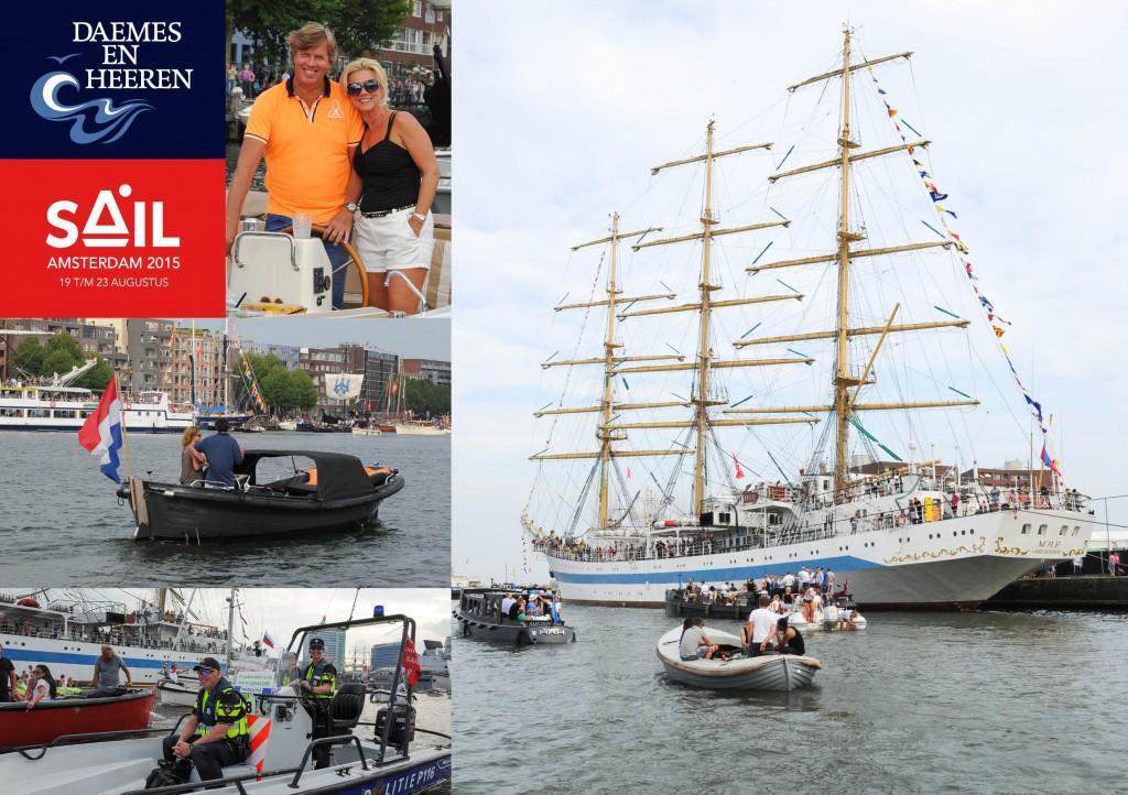Intender Sloep aw sloep Cooper sloep Sail 2015 Daemes en Heeren Sloepen Tenders Cabins Sloepenboekje Sloepenkaart Amsterdam Beleving Sloepenpost Sloep!