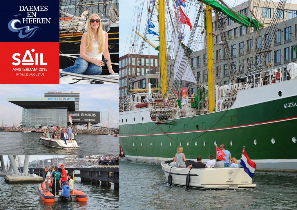 Intender Sloep Antaris 66 sloep Sail 2015 Daemes en Heeren Sloepen Tenders Cabins Sloepenboekje Sloepenkaart Amsterdam Beleving Sloepenpost Sloep!