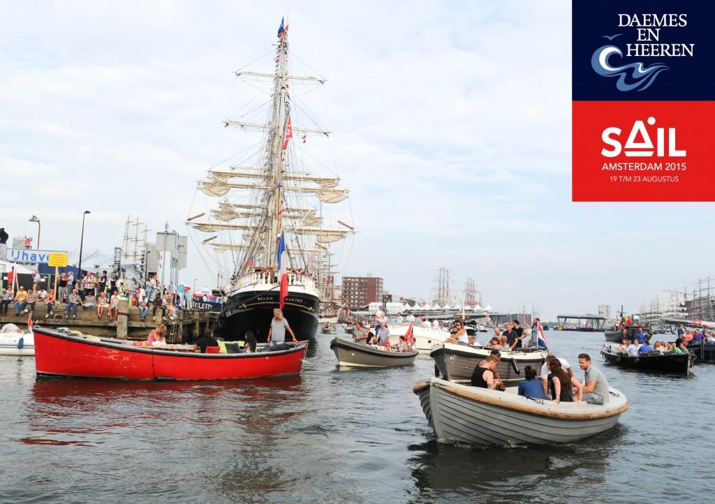 Interboat Sloep aw sloep Sail 2015 Daemes en Heeren Sloepen Tenders Cabins Sloepenboekje Sloepenkaart Amsterdam Beleving Sloepenpost Sloep!