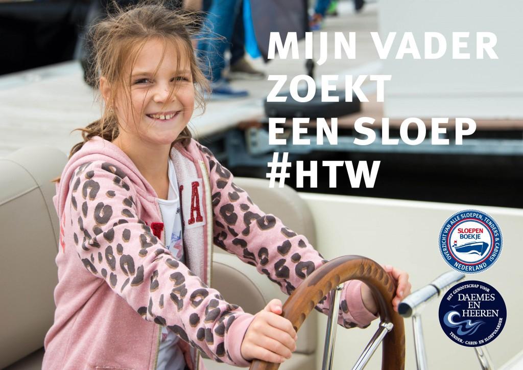 Piraatjes op het Water Hiswa te Water 2015 Daemes en heeren Amsterdam Sloepen Tenders Cabins Sloepenpost Sloepenboekje Sloepenkaart Amsterdam Beurs in beeld Sloep