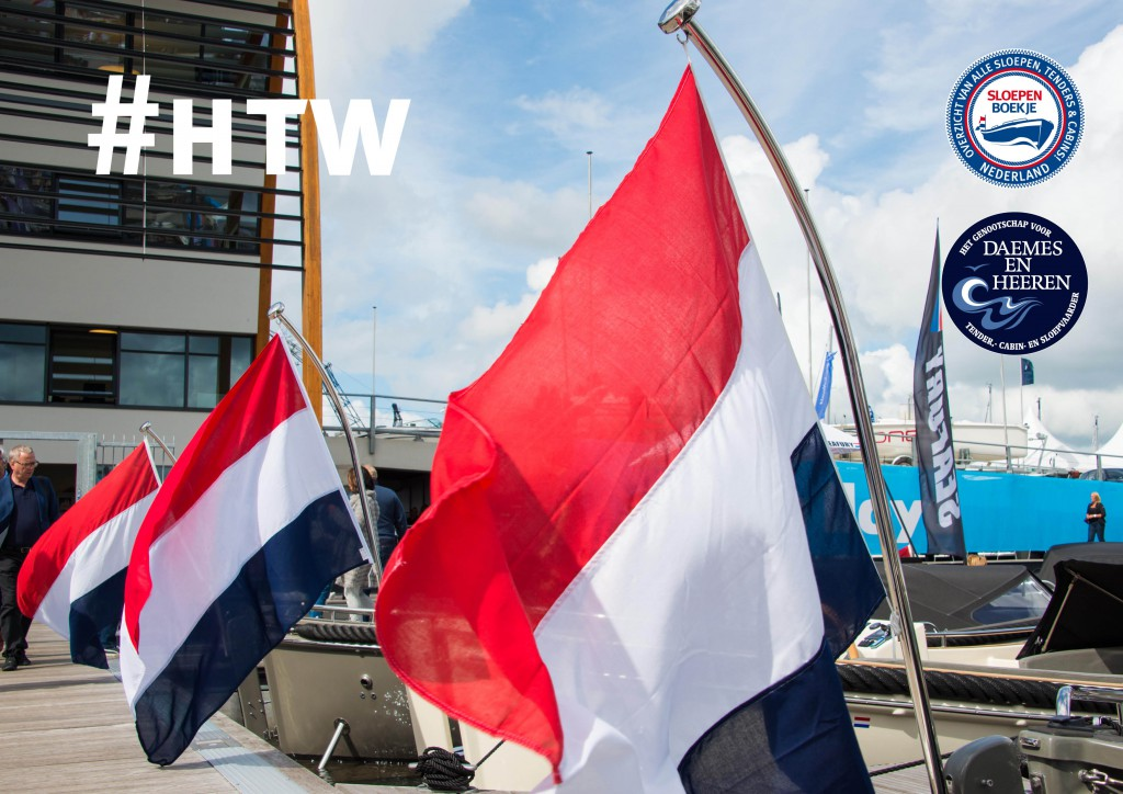 Seafury vlaggen Hiswa te Water 2015 Daemes en heeren Amsterdam Sloepen Tenders Cabins Sloepenpost Sloepenboekje Sloepenkaart Amsterdam Beurs in beeld Sloep