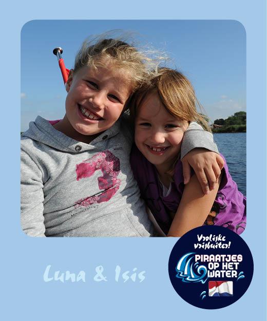 Luna van der Kolk Isis Dorst Piraatjes op het water Daemes en Heeren Sloepenpost Alles over sloepen Kinderen aan boord Spelletjes voor op het water