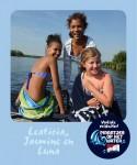 Leaticia, Jasmine en Luna Piraatjes op het water Daemes en Heeren Sloepenpost Alles over sloepen Kinderen aan boord Spelletjes voor op het water