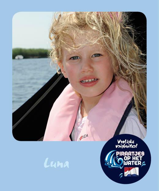 Luna van der Kolk Piraatjes op het water Daemes en Heeren Sloepenpost Alles over sloepen Kinderen aan boord Spelletjes voor op het water