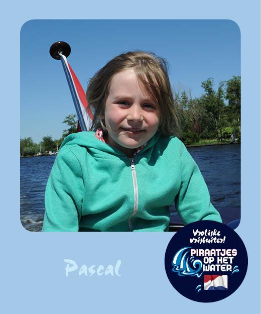 Pascal Piraatjes op het water Daemes en Heeren Sloepenpost Alles over sloepen Kinderen aan boord Spelletjes voor op het water