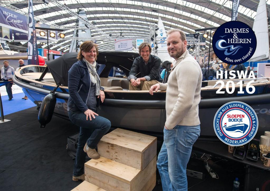 Cooper Yachts Hiswa 2016 Amsterdam Daemes en Heeren Sloepen Tenders Cabins Alles over sloepen Welkom op het water Sloepenboekje Sloepenpost SLOEP! Sloepenkaart Piraatjes op het Water