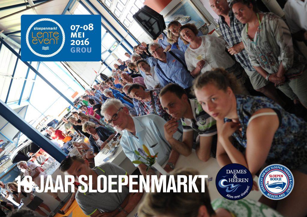 Sloepenmarkt Lente Event 2016 Daemes en Heeren Sloepen Tenders Cabins Beleving SLOEP! Alles over sloepen Sloepenboekje Sloep Piraatjes op het Water