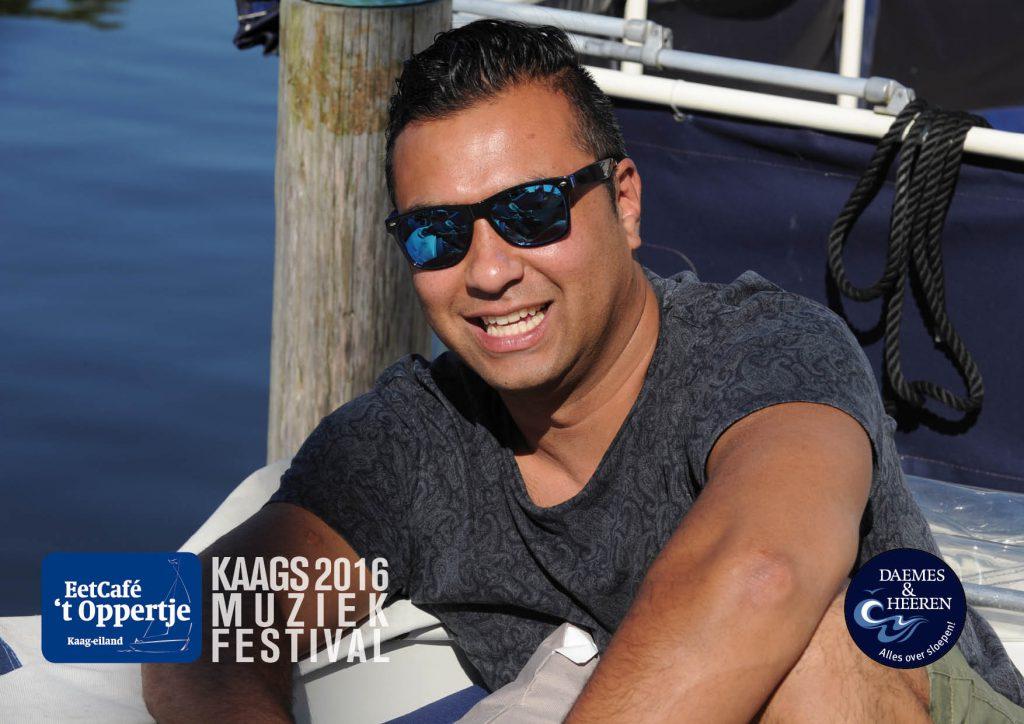 Kaags MuziekFestival 2016 Daemes & Heeren Eetcafé 't Oppertje Kaageiland Alles over Sloepen Muziek op het Water Sloepenkaart Sloepenboekje Welkom op het Water SLOEP! DJ Marcel P. Showband Escape