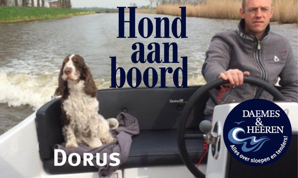 Dorus Hond aan Boord Daemes en Heeren Sloepen Tender Cabins Sloepenpost Sloepenkaart Alles over sloepen Sloepenboekje Honden aan boord Trouwe viervoeters